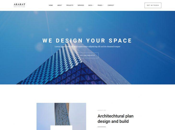 Mẫu website xây dựng 03