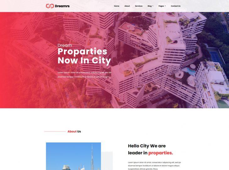 Mẫu website xây dựng 05
