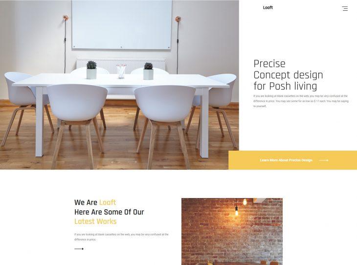 Mẫu website xây dựng 12