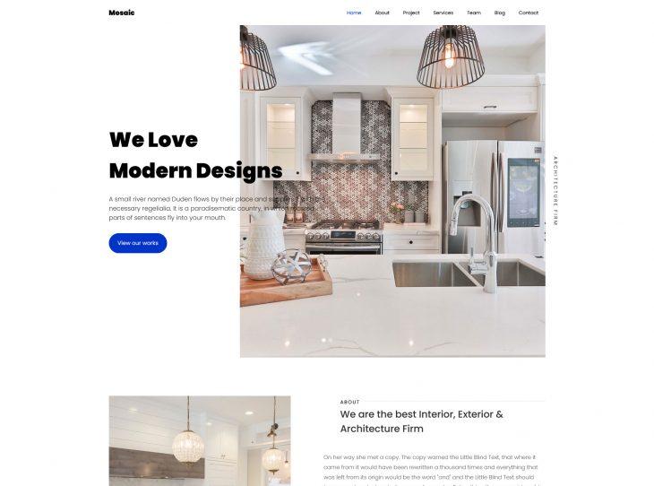 Mẫu website xây dựng 09