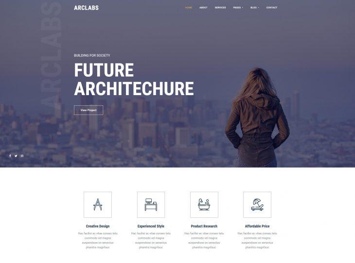 Mẫu website xây dựng 08