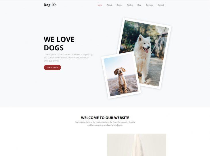 Website thú cưng 05