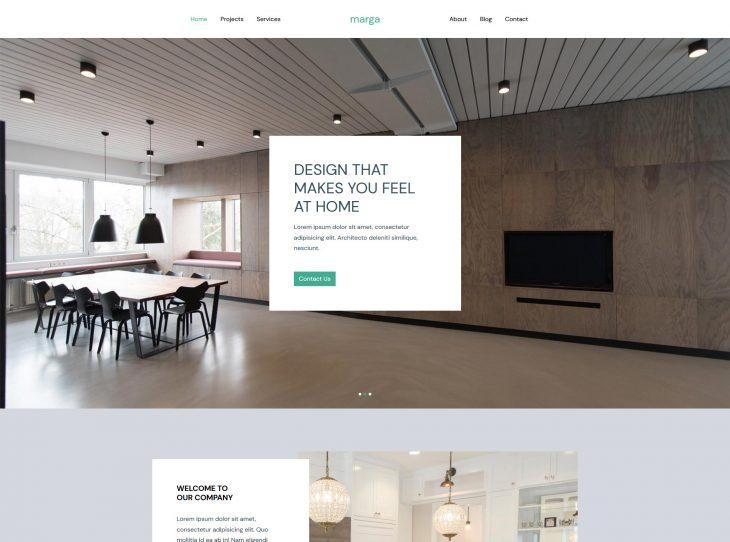 Mẫu website xây dựng 02