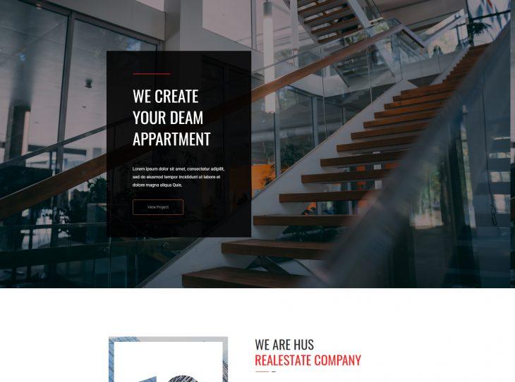 Mẫu web bất động sản 01